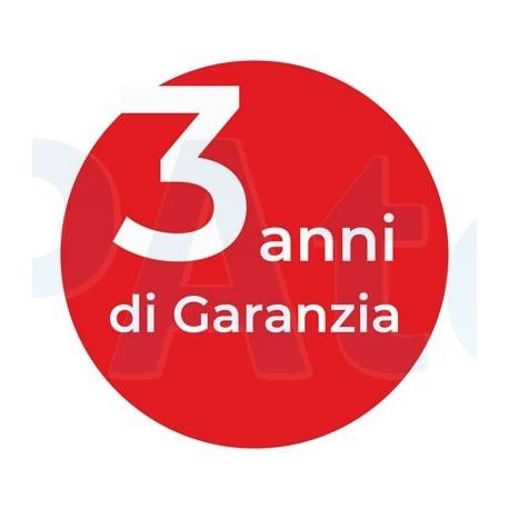 3 anni di garanzia für Vasche idromassaggio