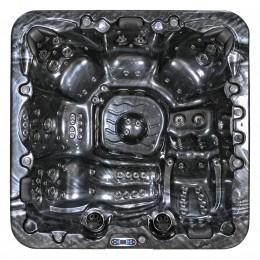 minipiscina idromassaggio esterno SPAtec 950B nero