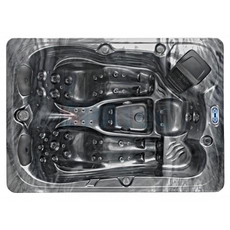minipiscina idromassaggio esterno SPAtec 450B shadow