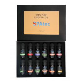 Aromaterapia: confezione da 12 aromi (Vasche Spatec)